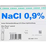 NaCl 0,9% Braun Injektionslösung Mini-Plasco connect, 10 St. Ampullen