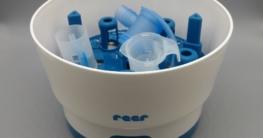 Inhaliergerät mit einem Vaporisator desinfizieren