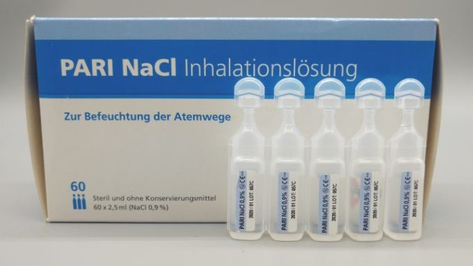 Pari NaCl Inhalationslösung (0,9%)