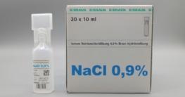 Braun NaCl 0,9% Injektionslösung zum Inhalieren